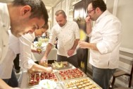 Destacados chefs cocinaron en directo con aceites virgen extra.