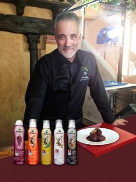 Sergi Arola, un padrino de lujo para los nuevos aceites. / AM