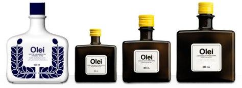 Gama de presentaciones de Olei. / O