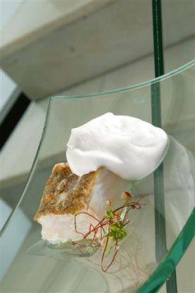 El célebre bacalao merengado del restaurante vizcaíno Gamíniz. / BG