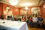 El público siguió con atención las actividades del salón Julio Camba.